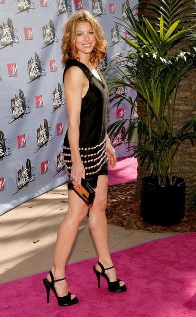 Jessica Biel at the 2007 MTV Movie Awards.